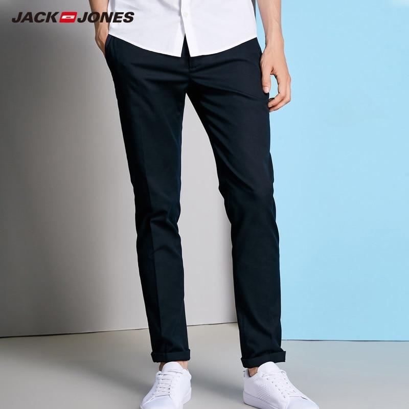De Algodón Jackjones Midnight 218114558 Pantalones Hombres Rollo Rígido J O7IwIzt