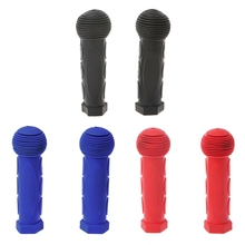 2Pcs Child Children Kid Bicycle Handlebar Sleeves Rubber Comfortable Kids Bike Colorful Cover Grips