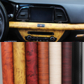 30*120CM PVC Car Wrap Furniture Wood Grain Car Film Internal Stickers Waterproof Self-adhesive Car Sticker Car Styling