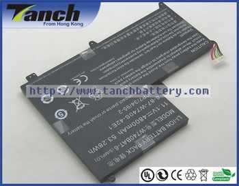 Batterie dordinateur portable W740BAT-6 3ICP7/34/95-2 pour CLEVO S413 W740SU X411 47J1 6-87-W740S-42E1 47VJ1 NP2740 Mountain Light 11.1 V 6 cellules