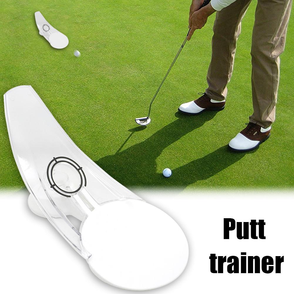 Golf Putt Golf entrenador poniendo interior y exterior Putt ejercicios reducir el número de Putts mejorar la velocidad