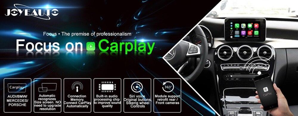 US $355 59 19% OFF|Joyeauto Aftermarket Wireless OEM Apple CarPlay Android  Auto Mirror Retrofit Mercedes C Class W205 GLC X253 15 19 NTG5 Car Play-in