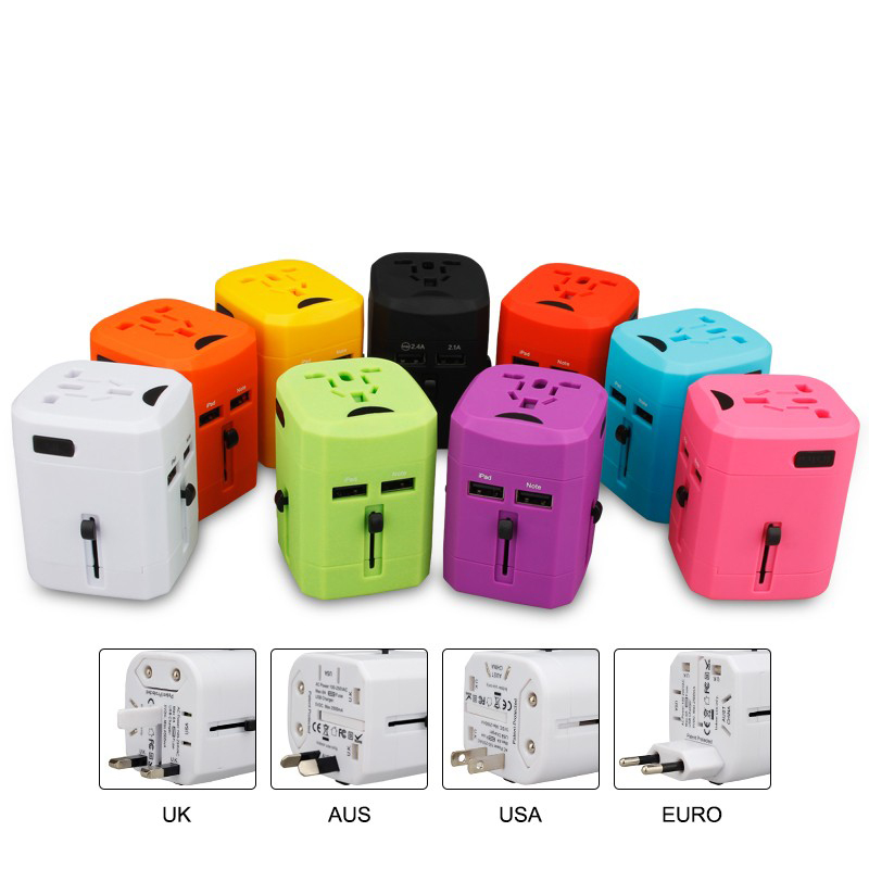 Universal Travel Adapter Power Socket With Usb Electric