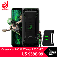 Global Version Xiaomi Black Shark LiquidCool Gaming Phone 8GB 128GB Snapdragon 845 Octa Core Dual 20.0MP 18:9 Full Screen 5.99″