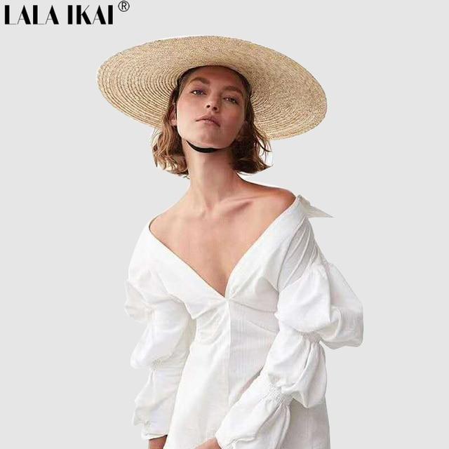 a9579665e4 Street Autumn Shirt Dress Women Brief Full Sleeve Irregular White Dress  Straight Puff Sleeve Tunique Dresses Vestidos QWA1624-45