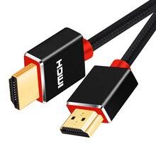 SL HDMI 케이블 고속 이더넷, 4K,1080P 3D 및 오디오 리턴 채널 지원 최신 표준 1M 2M 3M