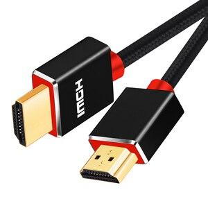 Image 1 - SL HDMI câble haute vitesse prend en charge Ethernet,4K,1080P 3D et canal de retour Audio nouvelle norme 1M 2M 3M
