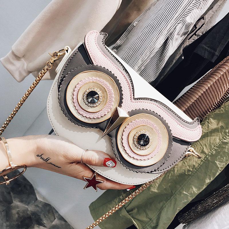 Netter Geldbeutel Handtasche Eule Frauen Messenger Bags Für Sommer Crossbody Umhängetasche mit Gurtband Dame Kupplung Geldbeutel Telefon 322