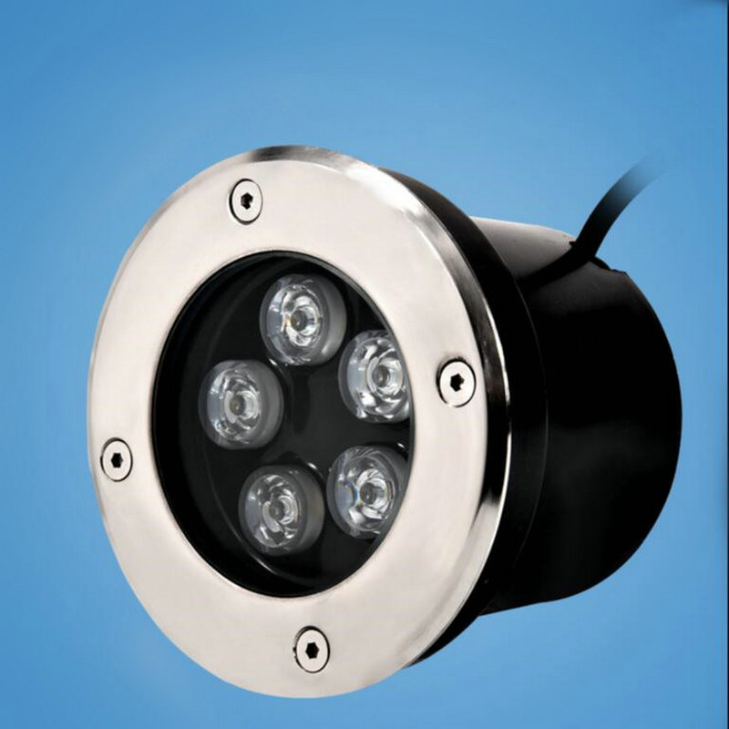 Led Lamps Humble Free Shipping 3w/5w/6w/7w/9w/12w/18w Outdoor Underground Lamp Waterproof Ip68 Led Spot Floor Garden Yard Led Underground Light Up-To-Date Styling