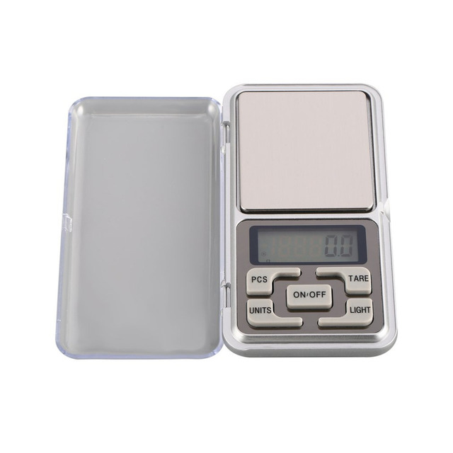 Mini Digital Pocket Scale 1000g 0.1g Precision g/tl/oz/ct/gn Weight Measuring for Kitchen Jewellery Gold Tare Weighing 3