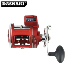 For Big fish corrosion-resistant treatment Aluminum Round Reels with counter fishing reels Folding Arm Carp Spinning Reel