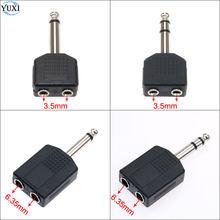Adaptador de conector de Audio Mono/estéreo de 1/4