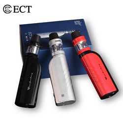 ECT B40 Starter Kit with 2200mAh Built-in Battery 40W VW Box Mod 2ml Top-Filling Kenjoy Atomizer E Cigarette Vape Mod Vaporizer