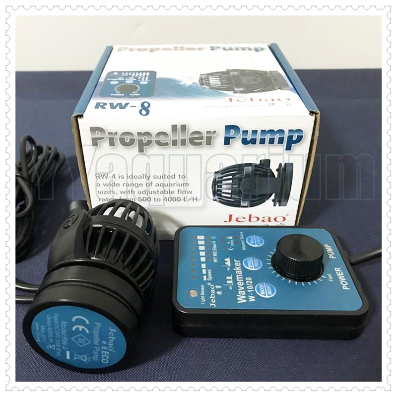 NEW JEBAO RW8 WIRELESS WAVEMAKER SMART CONTROLLER PROPELLER PUMP WAVE MAKER FOR REEF CORAL MARINE POOL