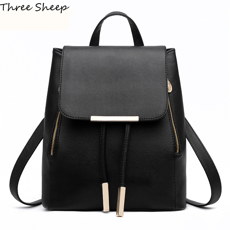 women backpack 2017 sack backpacks for school bags for teenage girls women black backpack sac a