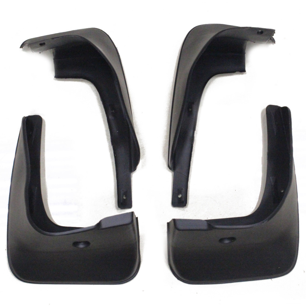 Splash Guards Mud Flaps Fit For Toyota Corolla Soft Plastic 4pcs Per Set