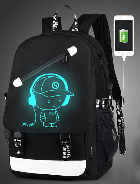 Luminous Animation Back to School Backpack 11