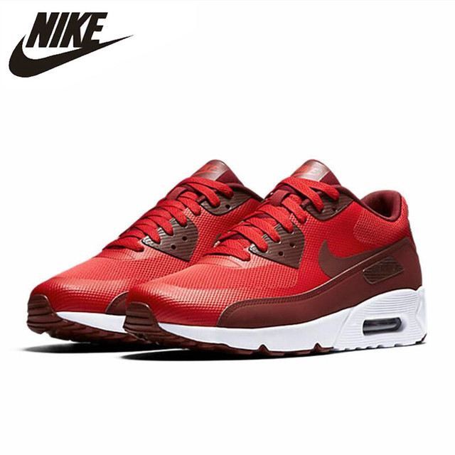 c49a390b4455 Official Original NIKE AIR MAX 90 ULTRA 2.0 Men s Breathable Running Shoes  Sneakers Limited Classic Outdoor Leisure Sports 2018