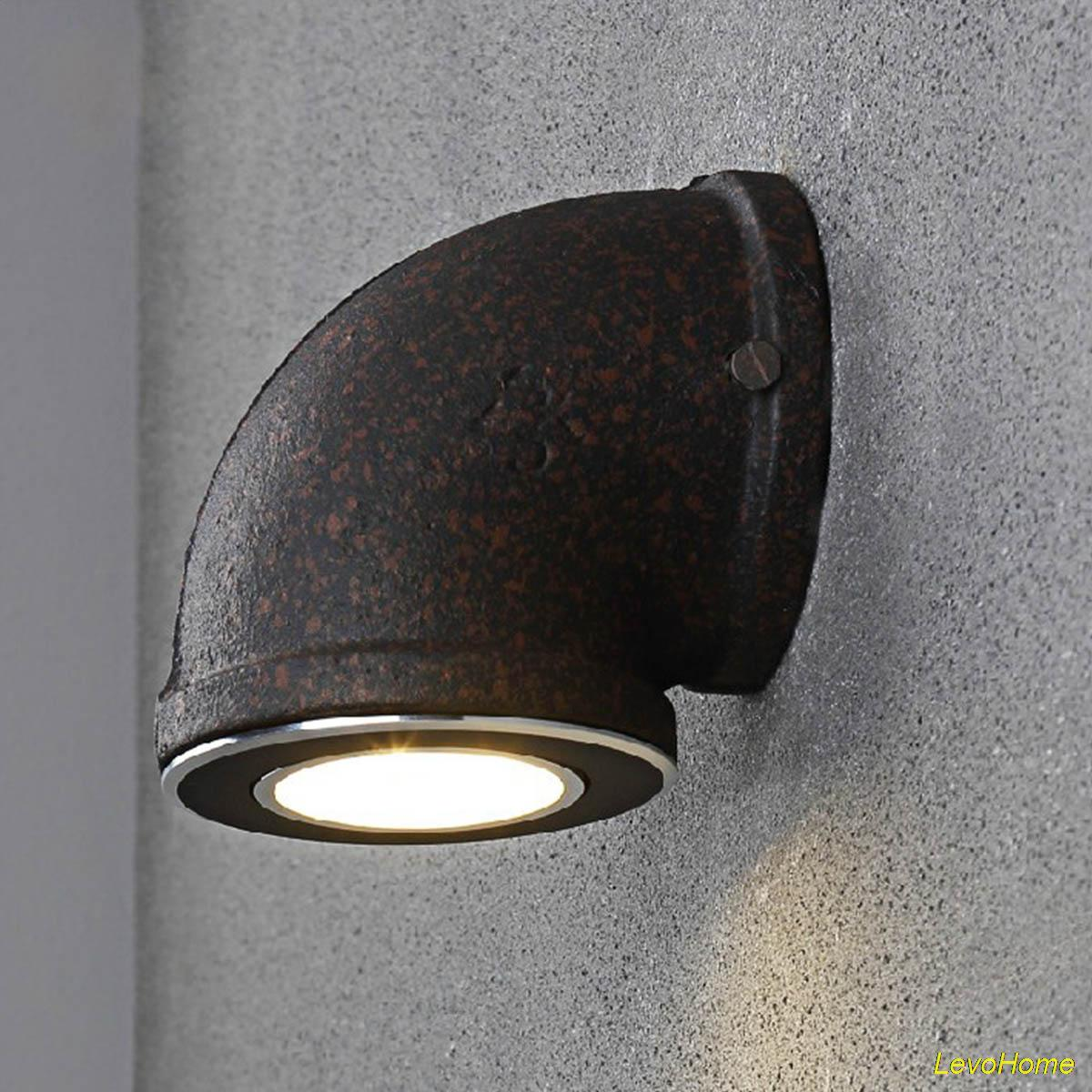 Industrial wall lamp water pipe wall sconces black led vintage industrial wall lamp water pipe wall sconces black led vintage wall light american village wall lamp bar lighting decor in wall lamps from lights lighting amipublicfo Image collections