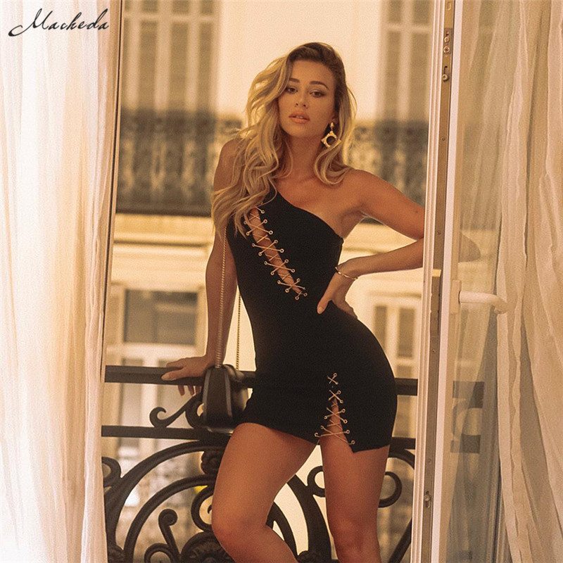 b8001453 top 10 sexy asymmetrical black dress bodycon mini dresses list and ...