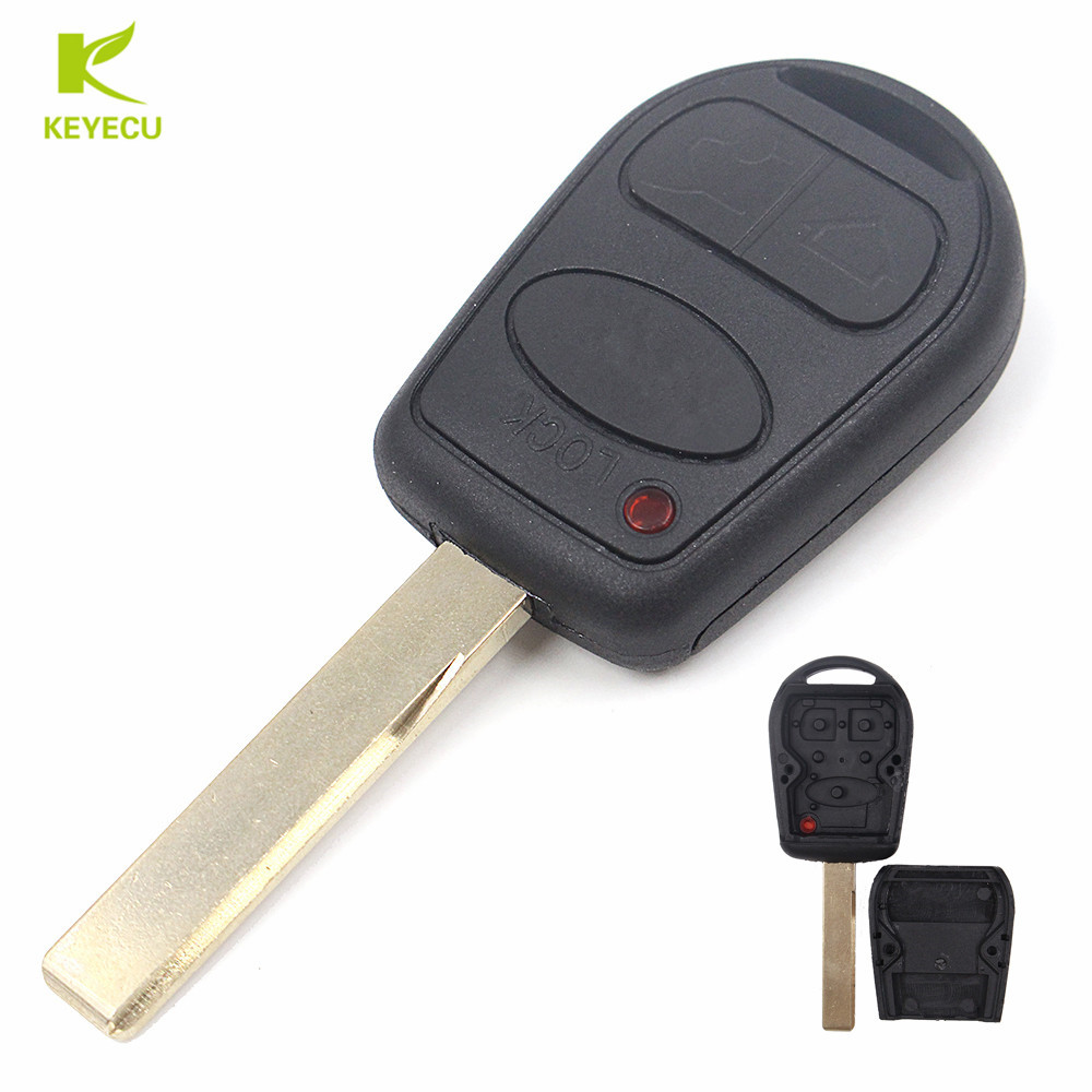 3 Button Remote Key Case Shell Fob for LAND ROVER Range Rover L322 HSE Vogue