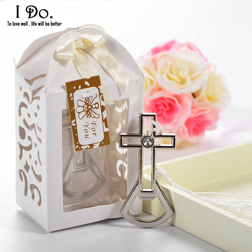 Free Shipping Cross Bottle Opener Wedding Favors And Gifts Wedding