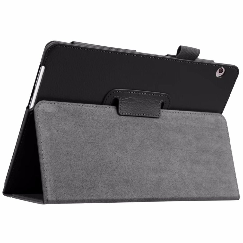 T3 9.6 Litchi Grain PU Leather Case Flip Cover For Huawei MediaPad T3 10 10.1 AGS-L09 AGS-L03 inch tablet case Protective shell