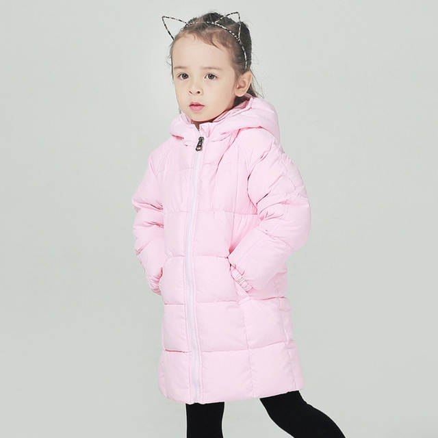 5124a687bcf4 Online Shop Winter White Duck Down Jacket For Girls 18 M-8 Years ...