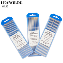 цена на 10pcs Gold Head Lanthanated Tungsten Electrode 1.0 /1.6/2.0/2.4/3.0/3.2/4.0X175mm TIG Tungsten Needle/Tungsten Electrode/TIG Rod