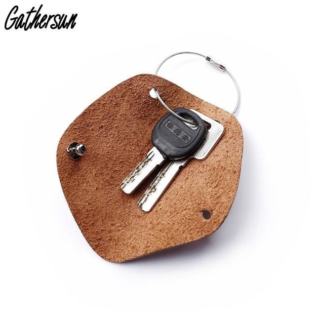 Key Holder Leather Keychain Minimalist Leather Pouch for Home Key Italian  Full grain Leather Key Case Personalized Key Organizer eccff33a4180