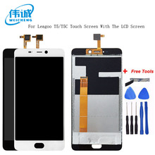 WEICHENG Tested Well For LEAGOO T5 LCD Display + Touch Screen Digitizer Assembly Panel Digital Replacemen T5C T 5+Free Tool
