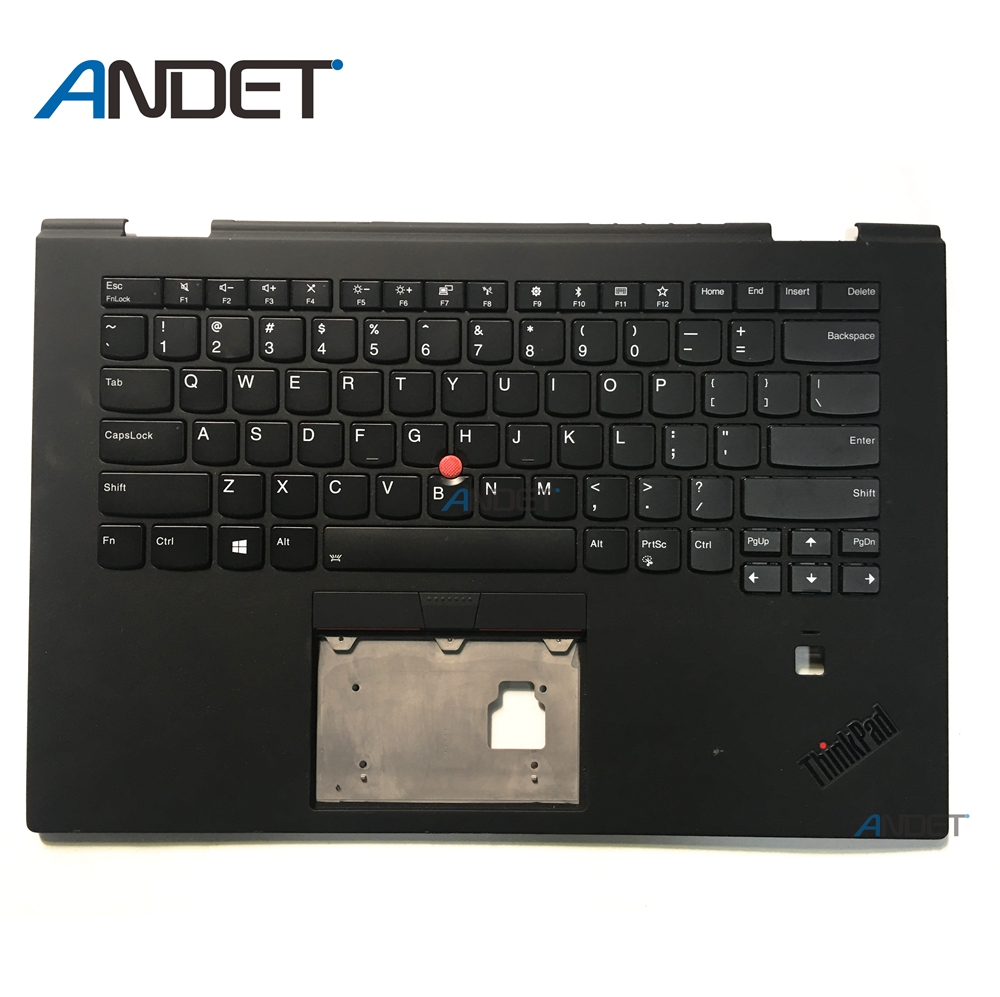 New Original for Lenovo ThinkPad X1 Yoga 3rd Gen Palmrest Keyboard Bezel Cover Upper Case US English цена