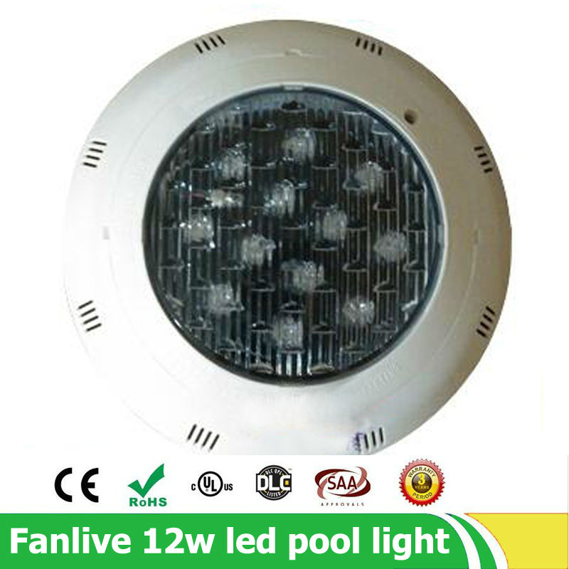3pcs/lot 12*1w 15w 24w Waterproof Swimming Pool Light IP68 12V Outdoor Warm White RGB Led Underwater Lighting Pond Lamp Lights 10w 12v underwater led light 1000lm waterproof ip67 fountain swimming pool lamp lights warm white white flood light lamp
