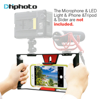 Ulanzi Smartphone Video Handle Rig Filmmaking Stabilizer Case Movie Youtube Videos Get Led Light And Microphone