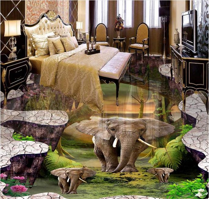 3d flooring custom wallpaper 3d floor murals Elephant 3d photo wallpaper room mural 3d floor wallpaper living room 3d floor murals custom wallpaper 3d floor photo mural wallpaper flower european marble pattern vinyl flooring living room