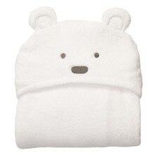 Baby Bear Blankets Newborn Super Soft Swadding Cloak 96x76cm Swaddling Baby Products Swaddle Wrap Nursling Sleeping Plush