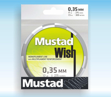 MUSTAD 250m wish series sea fishing PE line  8 sizeS available 0.8#/ 1.0#/ 1.5#/2.0#3.0#/4.0#/5.0#2.5#  in stock
