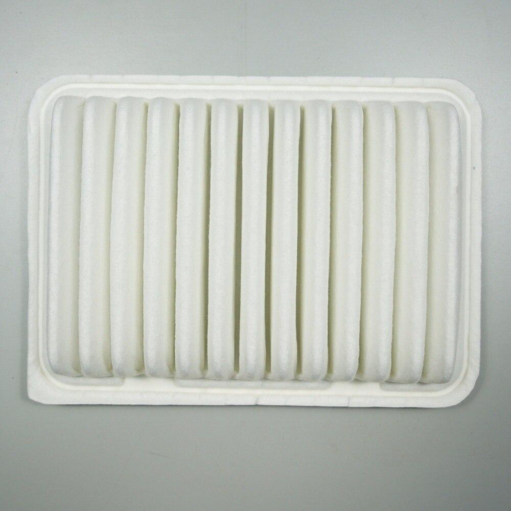 Filtre à air pour Toyota Corolla 1.6L/1.8L, 2010 Vios 1.3L/1.6L, Yaris, 2011 verso 1.6/1.8/2.0; Zotye Z300 oem: 17801-0T020 # K123