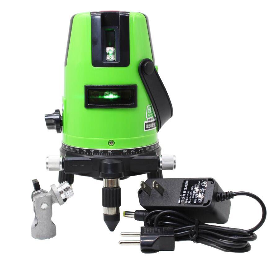 Lairui 5 Linea Verde Laser Level Linea Laser Misura Diagnostico-Strumento Rotativo Da 360 Gradi Libera la nave бутсы nike mercurial victory tf 10 651646 800