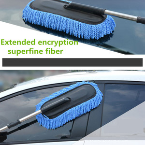 Image 4 - Car Special Wax Tow Cleaning Mop Tweezers Soft Hair Retractable Water Long Handle Dust Removal Car Wash Brush