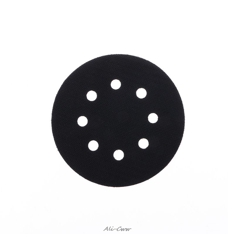 5 Inches(125mm) 8 Holes Ultra-thin Surface Protection Interface Pad For Sanding Pads And Hook&Loop Sanding Discs Thin Sponge