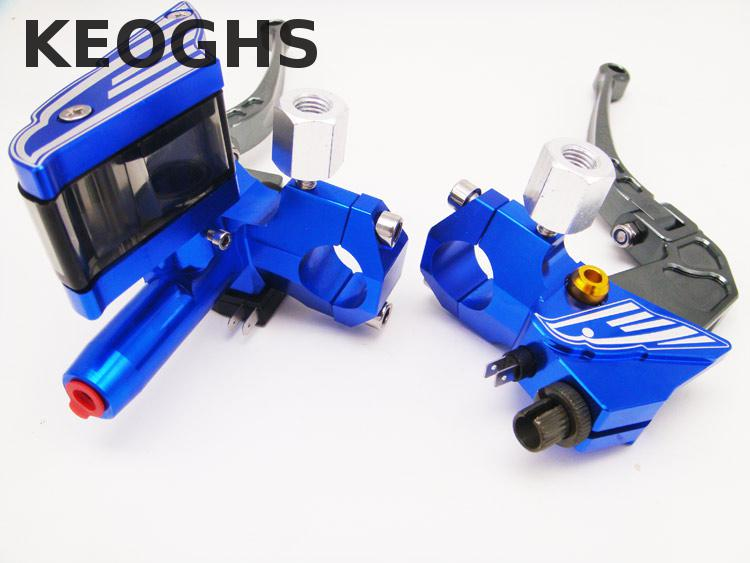 Keoghs Brake Master Cylinder And Brake Clutch Lever 12.7mm Cnc Aluminum Hydraulic Brake For Honda Yamaha Kawasaki Suzuki Scooter