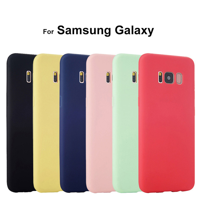 Luxury Silicone Case For Samsung Galaxy A3 A5 A7 2015 2016 S8 Plus S6 S7 Edge S4 S5 Neo Note 3 4 5 8 Cute Rubber Cover