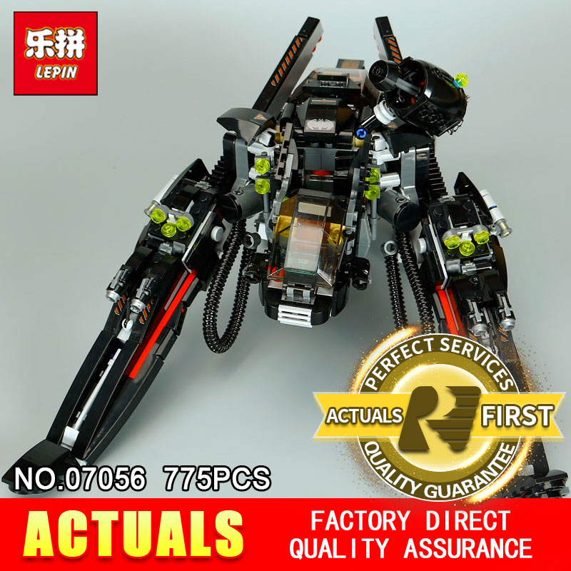 Lepin 07056 775Pcs Genuine Movie Series The Scuttler Bat Spaceship Set Building Blocks Bricks Education Toys Model 70908 5pcs pe6 t junction pneumatic fittings air 3 way quick pneumatic components rapid push pipe hose connector 6mm pneumatic parts