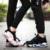 Nuevo Diseño 2017 Otoño Moda Hombre Ascensor Zapatos Casuales Cerrojo Par Encaje Hasta Zapatos Para Caminar antideslizantes de Goma zapatos de 5 colores