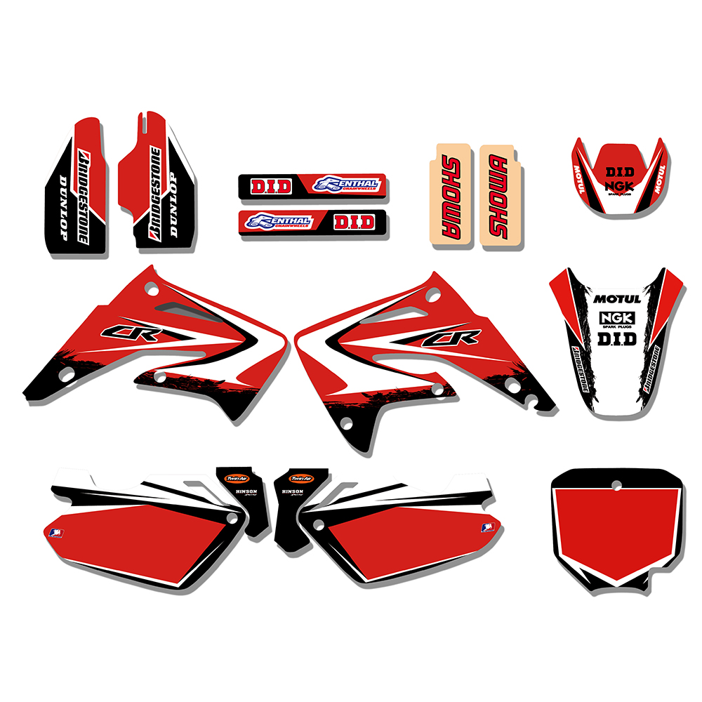 Team Graphics Background Decal Sticker Kit For Honda Cr85r Cr85 Ducati Multistrada 620 Wiring Diagram Transaction History