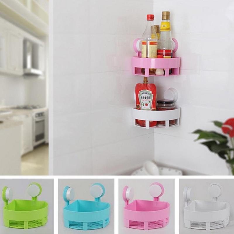 Corner Shelf Product - Bathroom Corner Shelf Shower Holder Mounted ...
