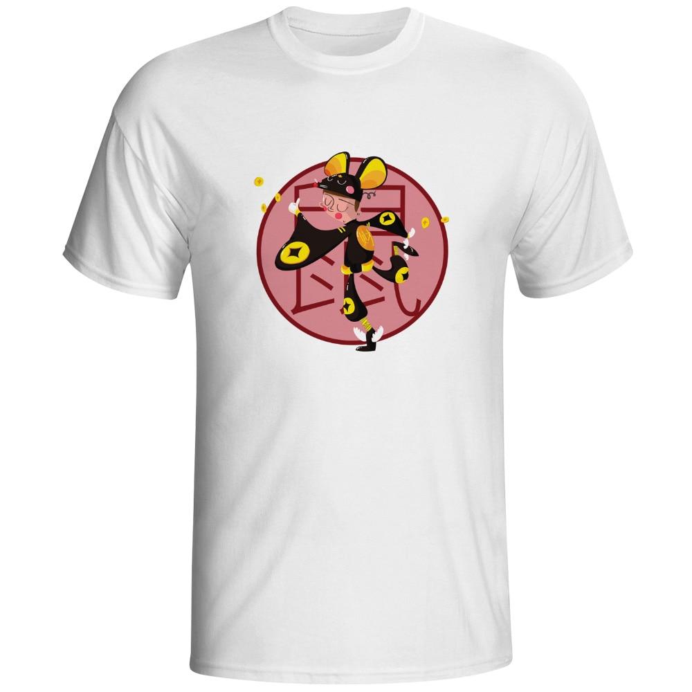 Design t shirt rollerblade - Eastern Zodiac Buddhist Calendar T Shirt Casual Design Pop T Shirt Novelty Skate Cool Women