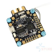 2018 New Matek MATEKSYS Flight Controller F411-ONE STM32F411 MPU6000 BFOSD SPI Receiver for RC Drone Racing