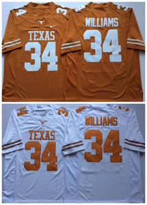 b84fc0131af Texas Longhorns 34 Connor Williams Stitched College Football Jersey Size  S-XXXL